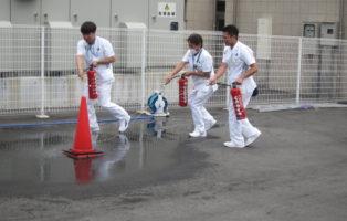 自衛消防訓練を行いました